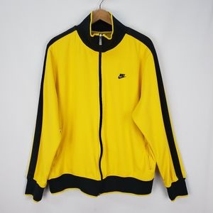 Nike track jacket.